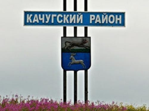 Красная колонна в Качугском районе