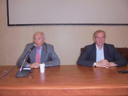 В Институте земной коры состоялась встреча с депутатом-коммунистом, академиком РАН Борисом Кашиным