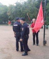 Беспредел продолжается. Очередное задержание коммунистов в Иркутске