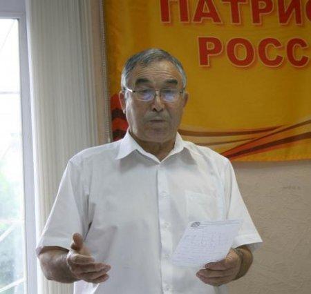 Василий Проничев: «Сергей Левченко объединит усилия всех патриотических партий»