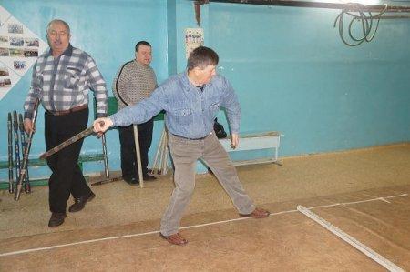 В Усолье-Сибирском прошли соревнования по городошному спорту