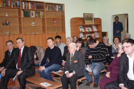 Отчетно-выборная конференция в Октябрьском районном отделении. И вечный бой, покой нам только снится!