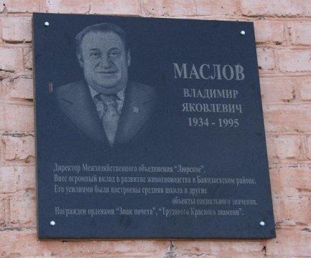 Баяндаевский район. Память о легендарном Маслове жива