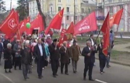 Ангарск: под красным флагом