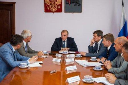 Губернатор поручил разработать дорожные карты инвестиционных проектов, направленных на развитие сельхозпроизводства
