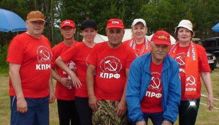 Тайшетские коммунисты приняли участие в турслёте на Бирюсе