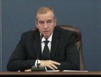 В Иркутске состоялась пресс-конференция губернатора С.Г. Левченко
