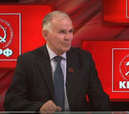 Сергей Бренюк представляет предвыборную программу КПРФ
