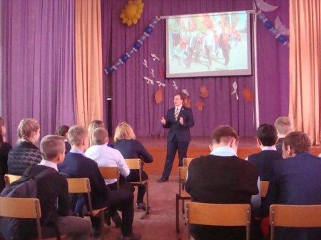 Иркутские комсомольцы встретились со школьниками