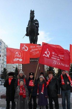 Памяти полководца. Иркутские коммунисты отметили 120-летие Г.К. Жукова