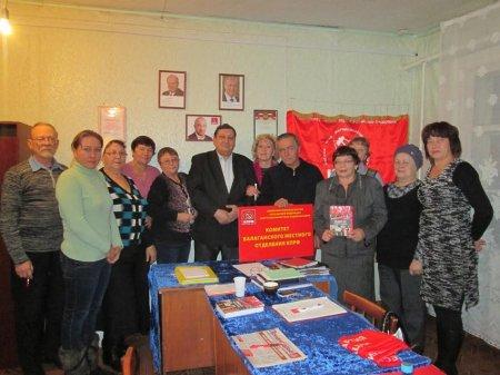 Балаганск: коммунисты готовы к борьбе