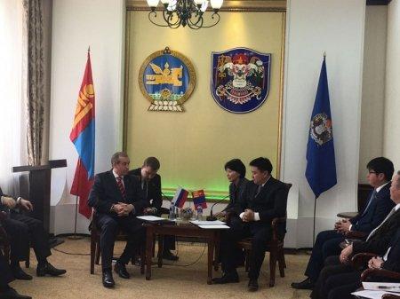 Сергей Левченко: Иркутская область и Монголия имеют ряд перспективных направлений сотрудничества