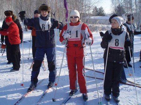 Лыжные соревнования состоятся 26 февраля