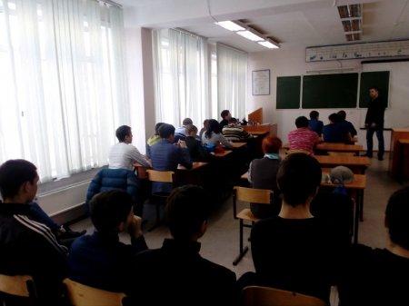 Молодые коммунисты встретились со студентами аграрного техникума