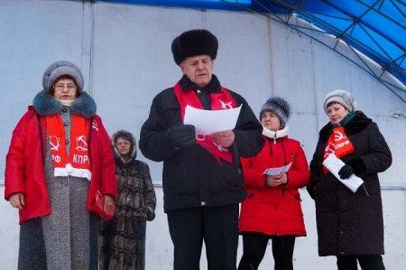 Тайшет. Резолюция митинга в поддержку мэра А. Величко