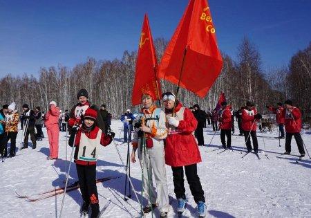В Иркутске прошли традиционные лыжные соревнования