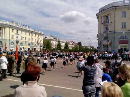 День пионерии: детский фестиваль в Ангарске