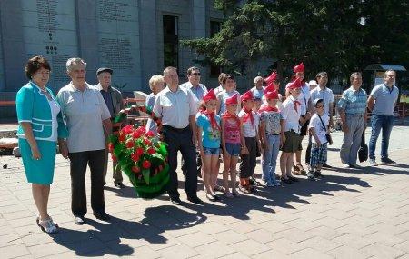 Иркутские коммунисты почтили память погибших в Великой Отечественной