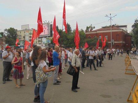 Митинг «Вернем Иркутску выборы мэра» состоялся 27 июня