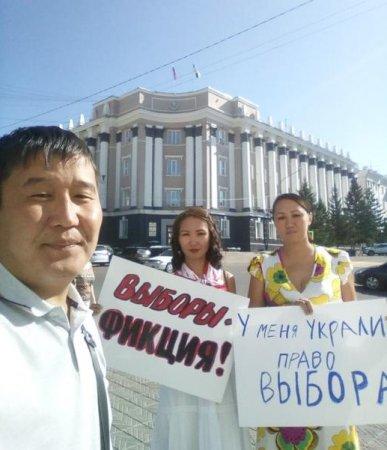 В Улан-Удэ продолжаются пикеты против «выборов без выбора»