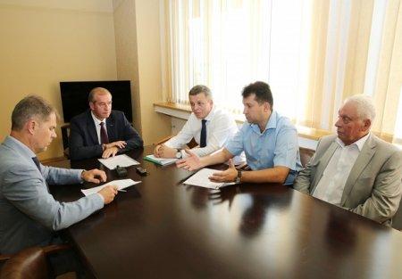 Сергей Левченко посетил Усольской район с рабочим визитом
