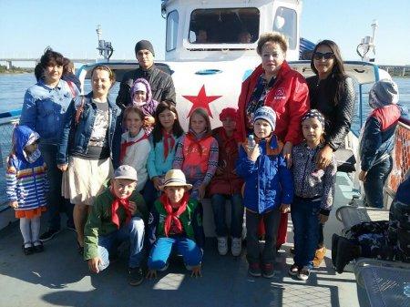 «Надежда России» устроила экскурсию для детей по Ангаре