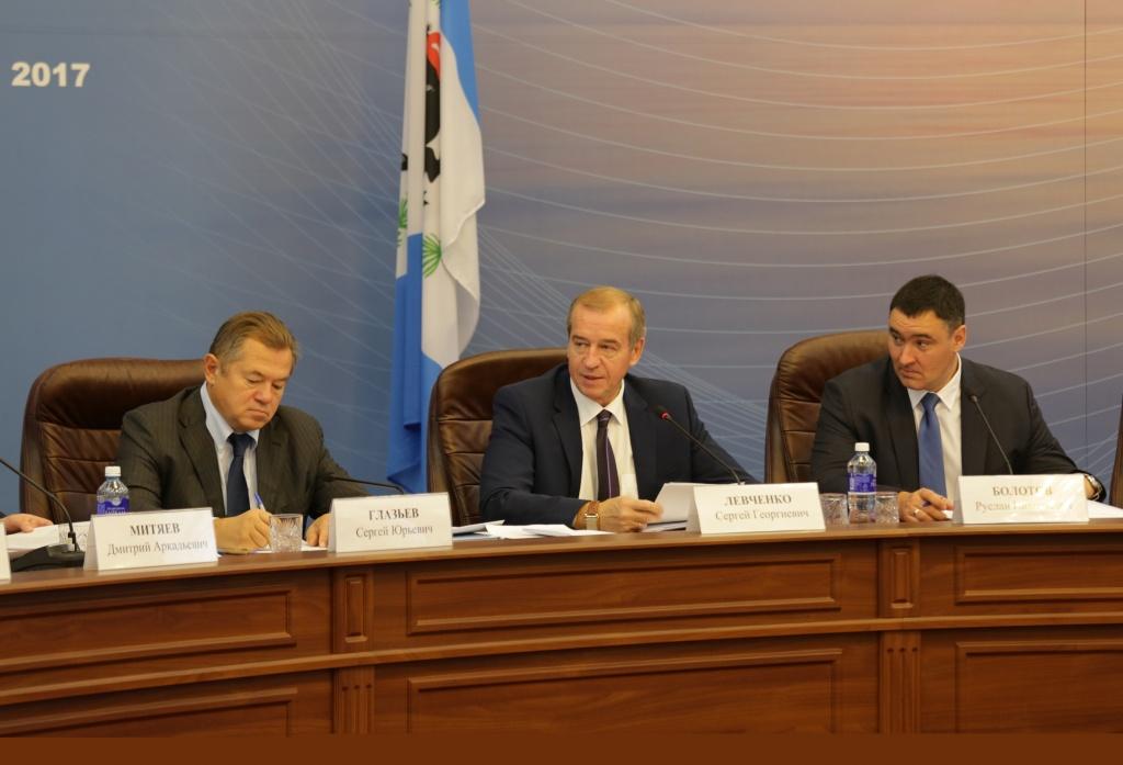 Сергей Глазьев: опыт Иркутской области, я уверен, будет воспринят во всей стране