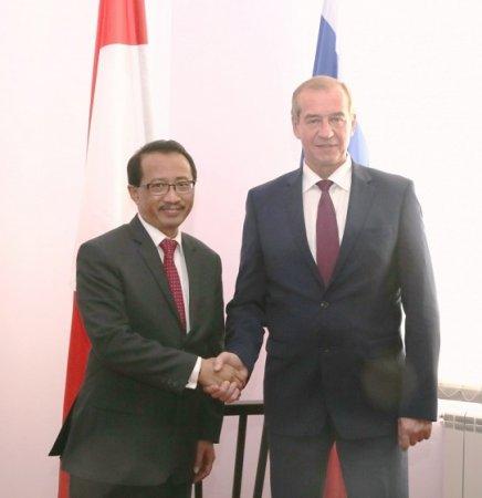 Иркутская область и Республика Индонезия рассмотрят возможность установления побратимских отношений