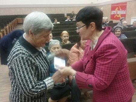 В Иркутске состоялось собрание общественной организации «Дети войны»