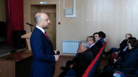 Жители Осинского района попросили депутата Госдумы М. Щапова помочь добиться финансирования для строительства школы в селе Бильчир