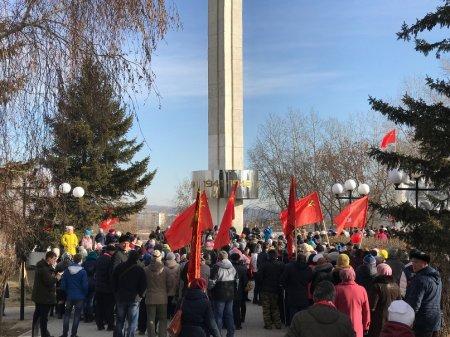 Столетний юбилей Октябрьской революции на Усольской земле
