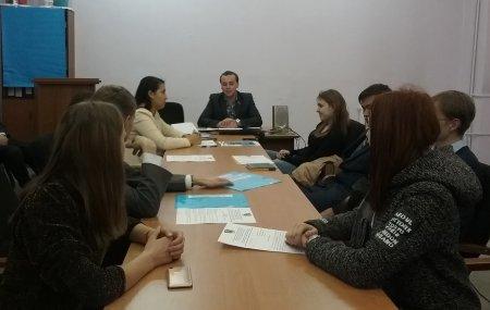10 ноября состоялось заседание бюро Иркутского горкома ЛКСМ РФ