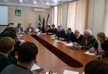 Заседание ассоциации «Товарищ» Усольского района