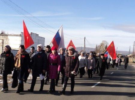 Великий Октябрь в Качугском районе