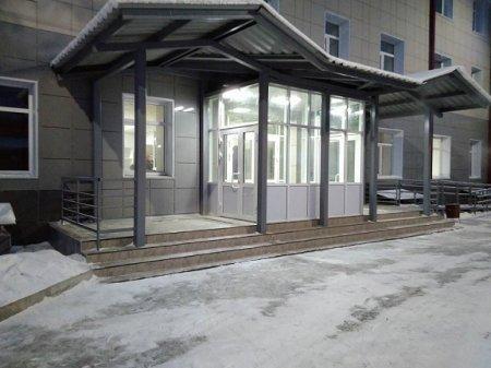 В поселке Мегет завершена реконструкция здания поликлиники