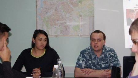 27 января состоялось заседание бюро Иркутского горкома ЛКСМ РФ