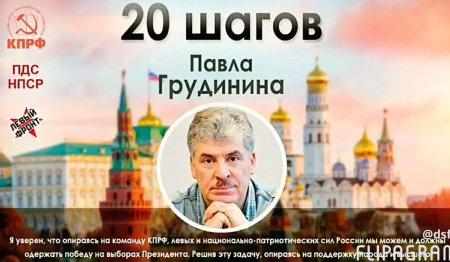 Павел Грудинин – народный президент
