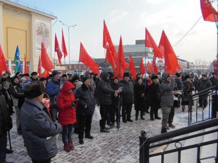 Иркутск выступил в поддержку Павла Грудинина