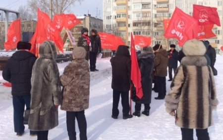 Митинги в поддержку Грудинина состоялись в Братске