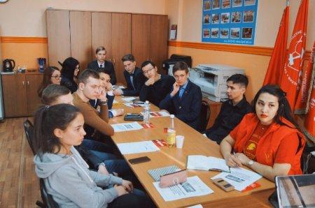Иркутские комсомольцы обсудили ход избирательной кампании