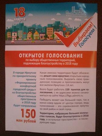 В Иркутске 18 марта собираются незаконно проводить параллельное голосование