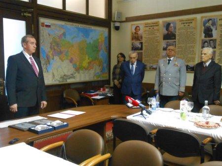 С.Г. Левченко наградил в Москве лауреатов Национальной литературной премии имени В.Г. Распутина