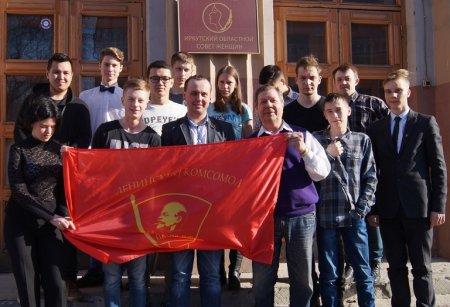7 апреля состоялось очередное субботнее занятие Иркутской городской комсомольской школы