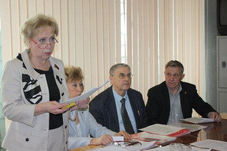 Состоялись отчётно-выборные конференции в Октябрьском и Ленинском отделениях КПРФ Иркутска
