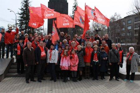 В Иркутской области прошли субботники и акции в день рождения В.И. Ленина
