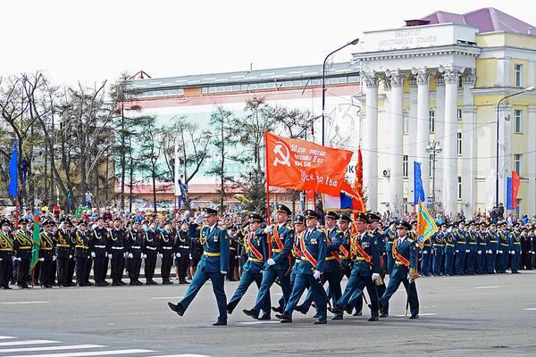 В Иркутске завершается подготовка к празднованию Дня Победы