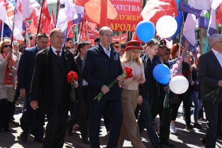 С Первомаем! Поздравление Сергея Левченко