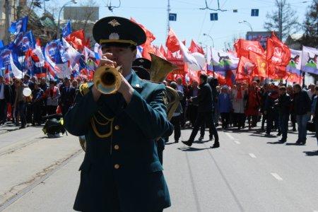 Первомай в Иркутске