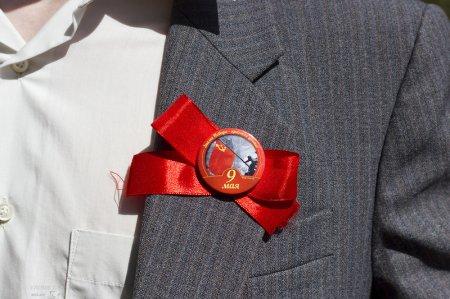 Цвет Победы — красный!