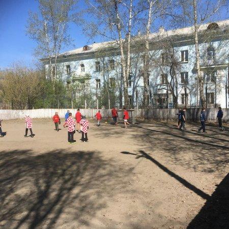 В Ангарске прошли игры по мини-футболу среди дворовых команд